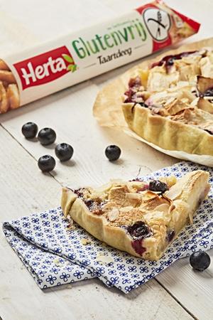Pizza- en taartdeeg zonder gluten en lactose van Herta