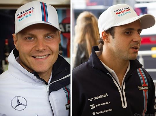 Valtteri Bottas en Massa