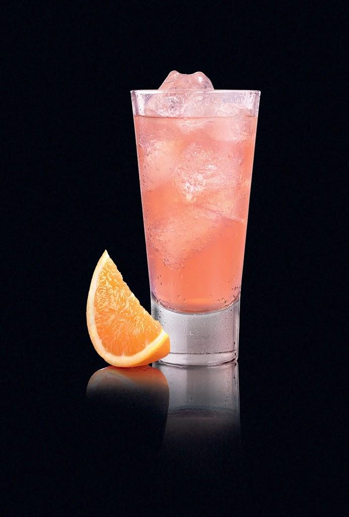 FÏNLEY in glas met partje appelsien