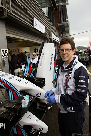 Williams Martini Racing monteur