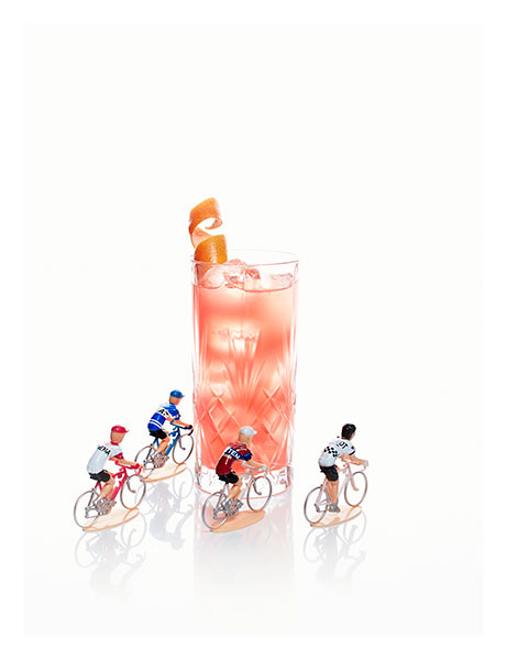 Martini Merckx cocktail