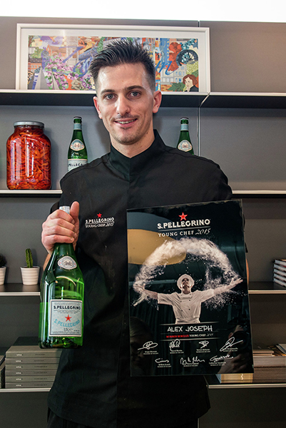 Beste jonge chef van de Benelux