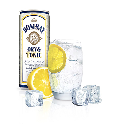Ready to serve Bombay Dry & Tonic