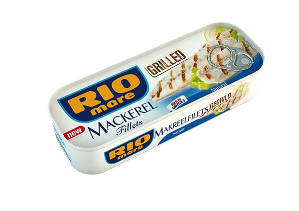 """De gegrilde makreelfilets van Rio Mare  verkozen tot """" Product van het jaar 2015"""