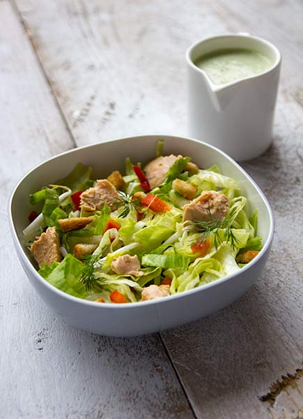 krokante salade