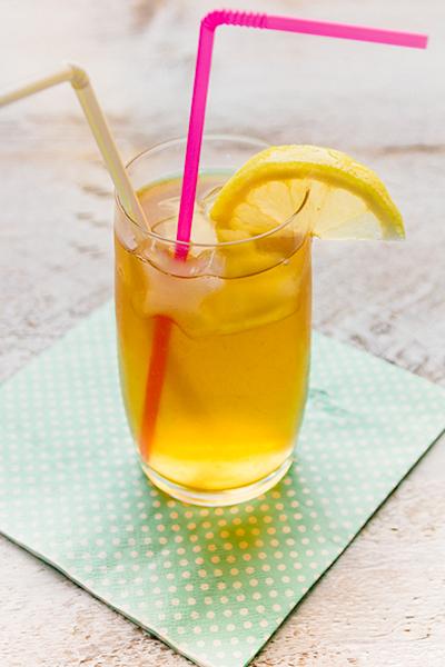 Ice tea maken