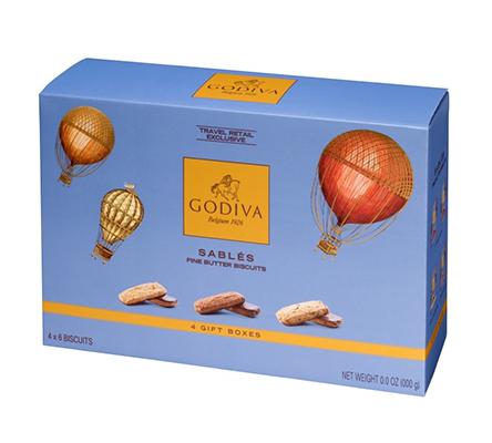 Sablés collectie van Godiva