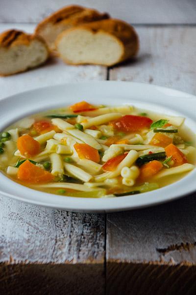Kliekjes soep