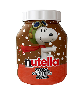 Nutella en Snoopy pot