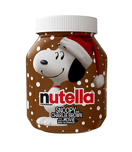 Nutella en Snoopy
