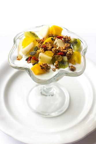 granola met yoghurt