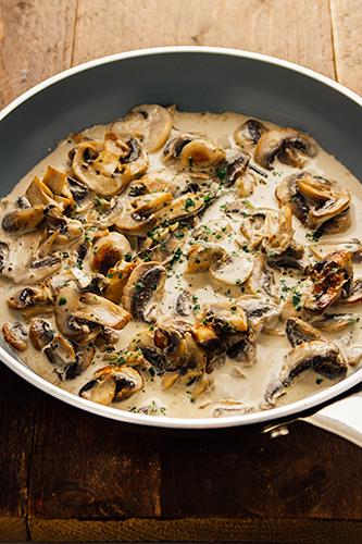 Snelle champignonsaus klaar in minder dan 5 minuten