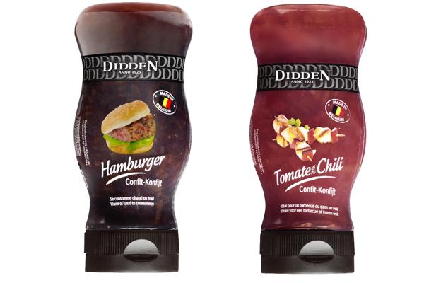 Konfijt voor Hamburger en Konfijt Tomaten Chili