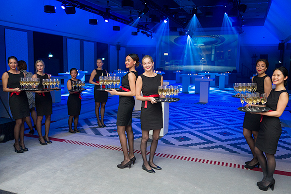 Launch party in de Wintertuin