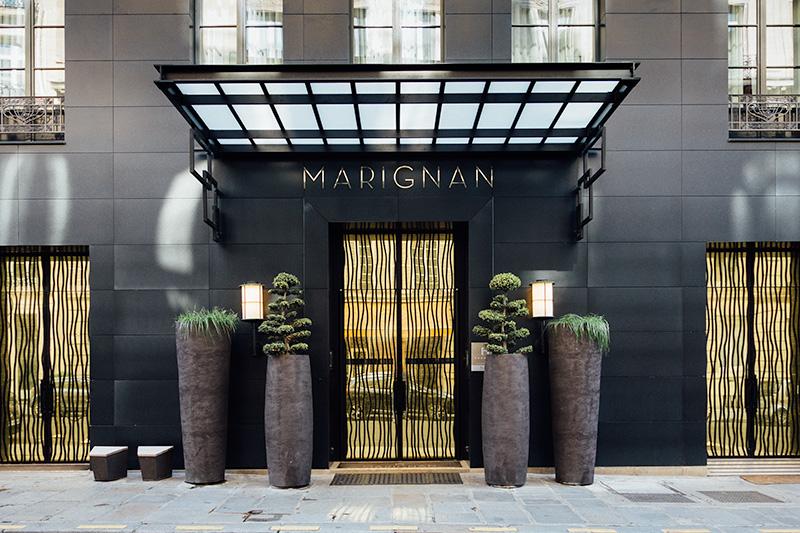 H U00f4tel Marignan Champs-elys U00e9es Paris 5