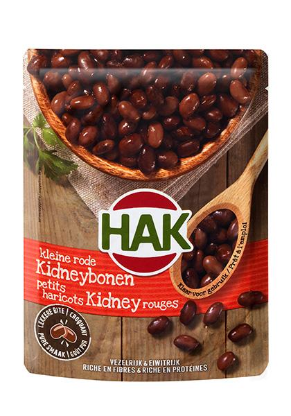 HAK introduceert nieuwe peulvruchten in pouch