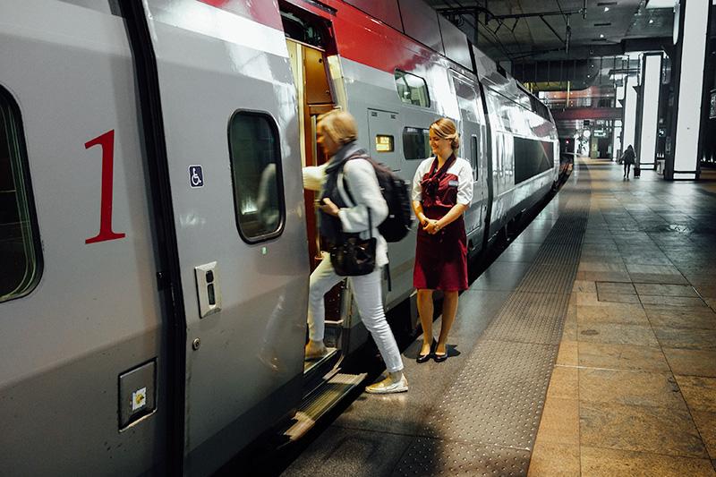 Thalys naar Parijs