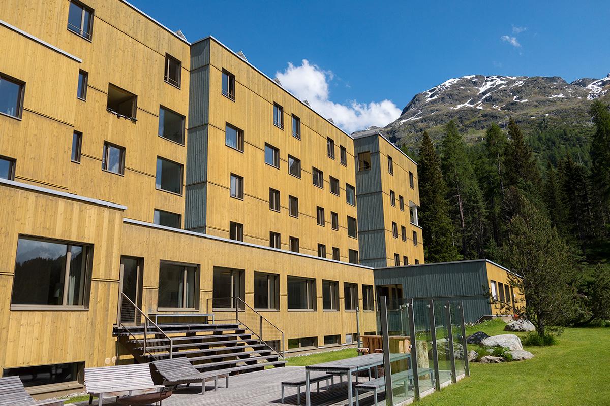 jeugdherberg Sankt Moritz