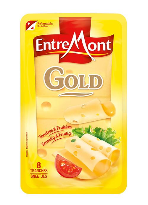 Kaas in plakjes van Entremont