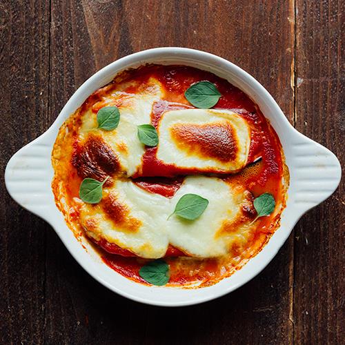 vegetarische-ovenschotel-met-gegratineerde-aubergines