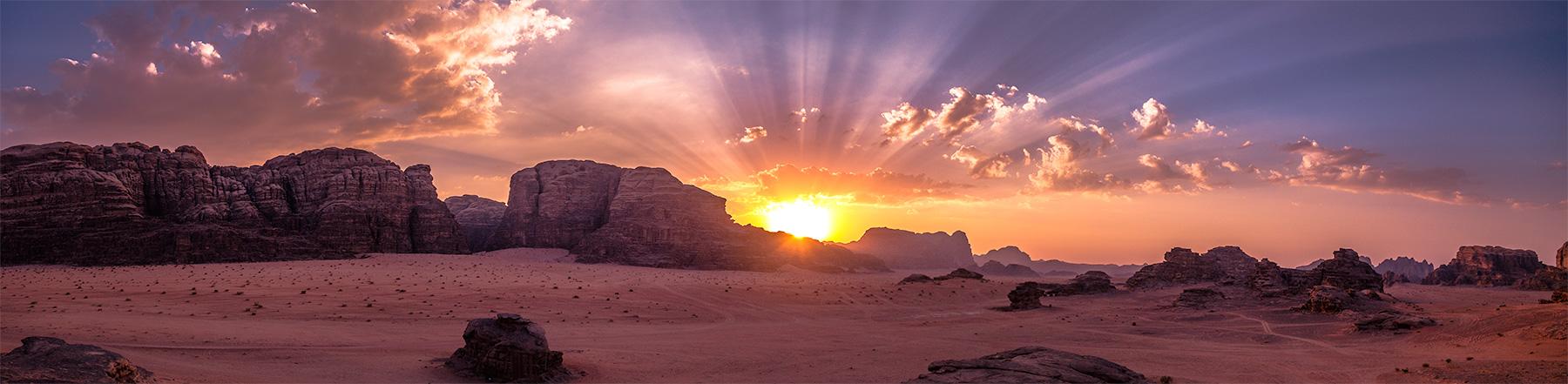 Panorama Jordanië