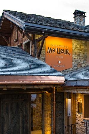 Luxueus logeren en gastronomie in La Bouitte (Saint-Martin-de-Belleville)