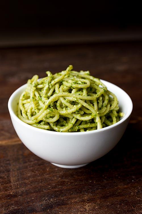 Pesto met cashewnoten