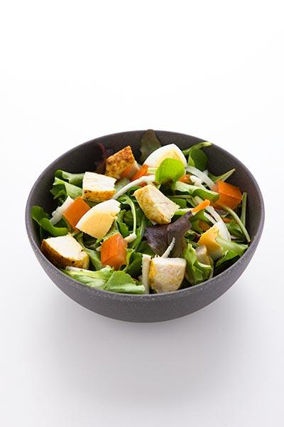 Salade met koude kip