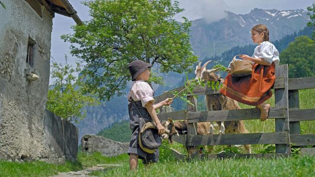 Heidi in Zwitserland
