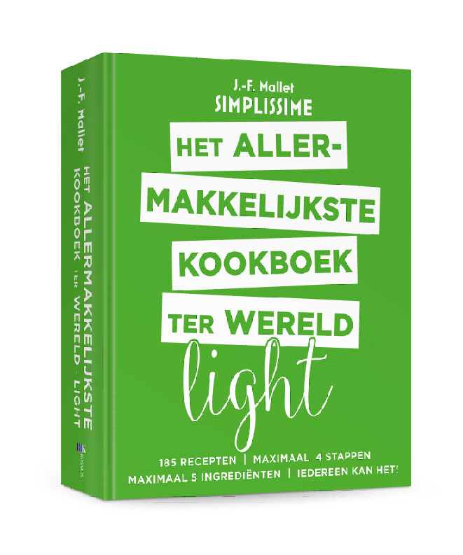 Het allermakkelijkste kookboek ter wereld light