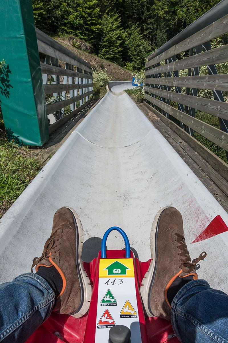 Summer sledge - Morzine