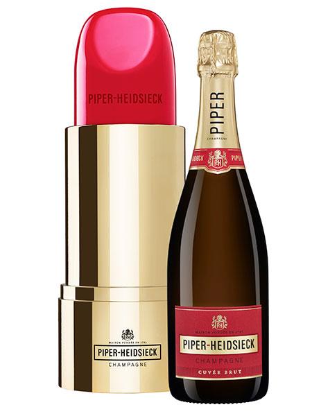 De lipstickset van Piper-Heidsieck