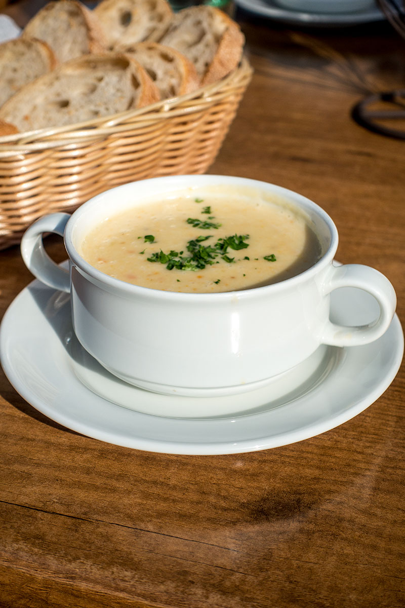 Aardappelsoep uit Duitsland