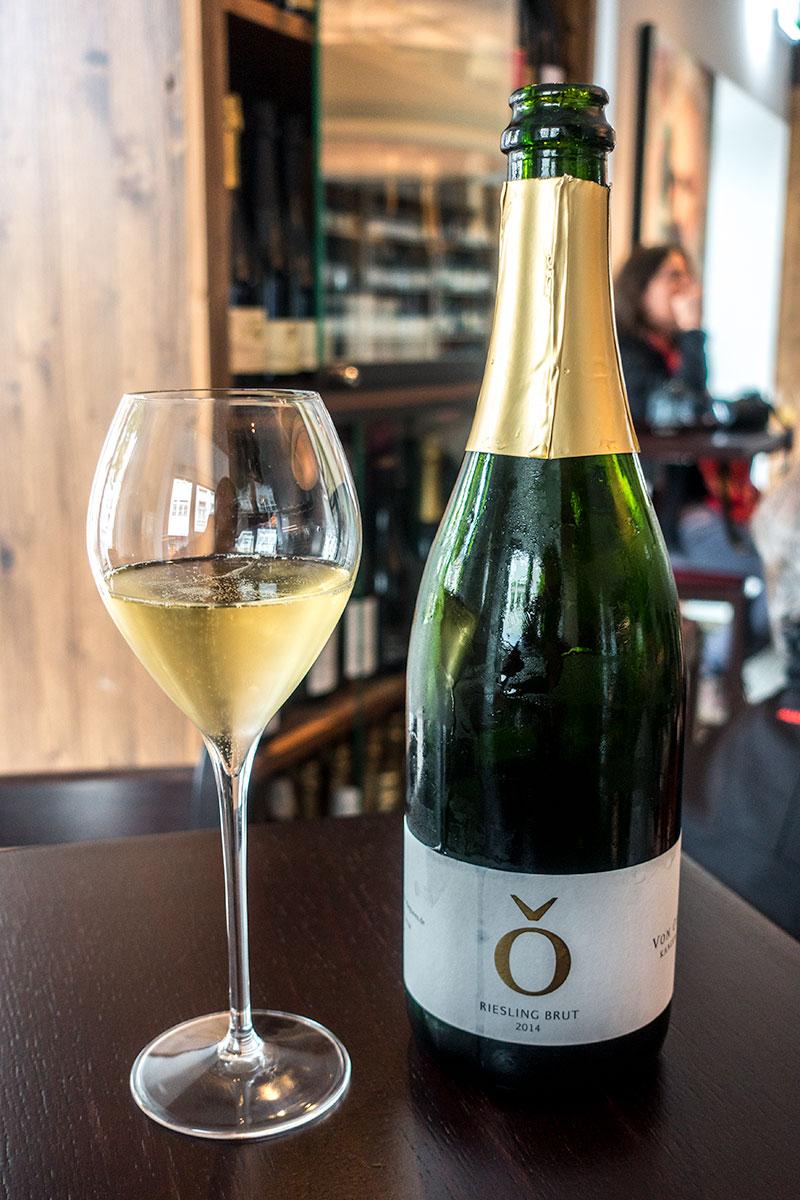 Riesling Sekt brut 2014 van wijndomein 'Von-Othegraven'
