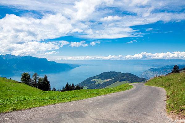 Route des Grandes Alpes in Frankrijk