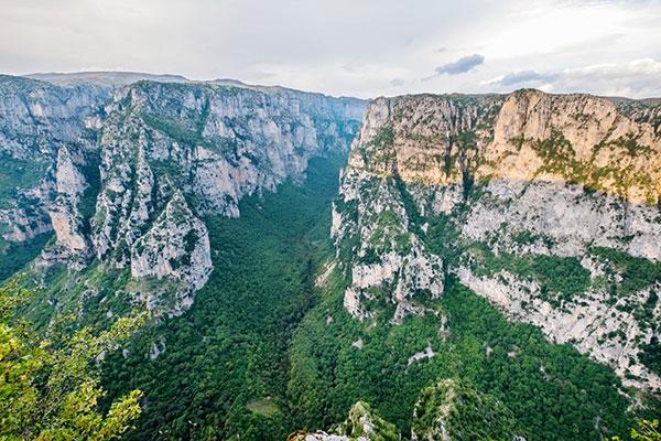 Vikos Kloof, Pindosgebergte Griekenland
