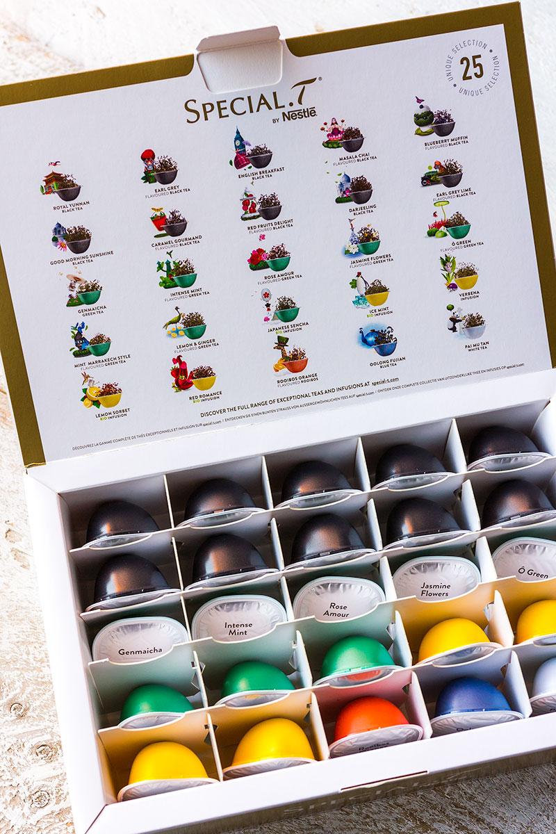 Degustatiebox met 25 capsules