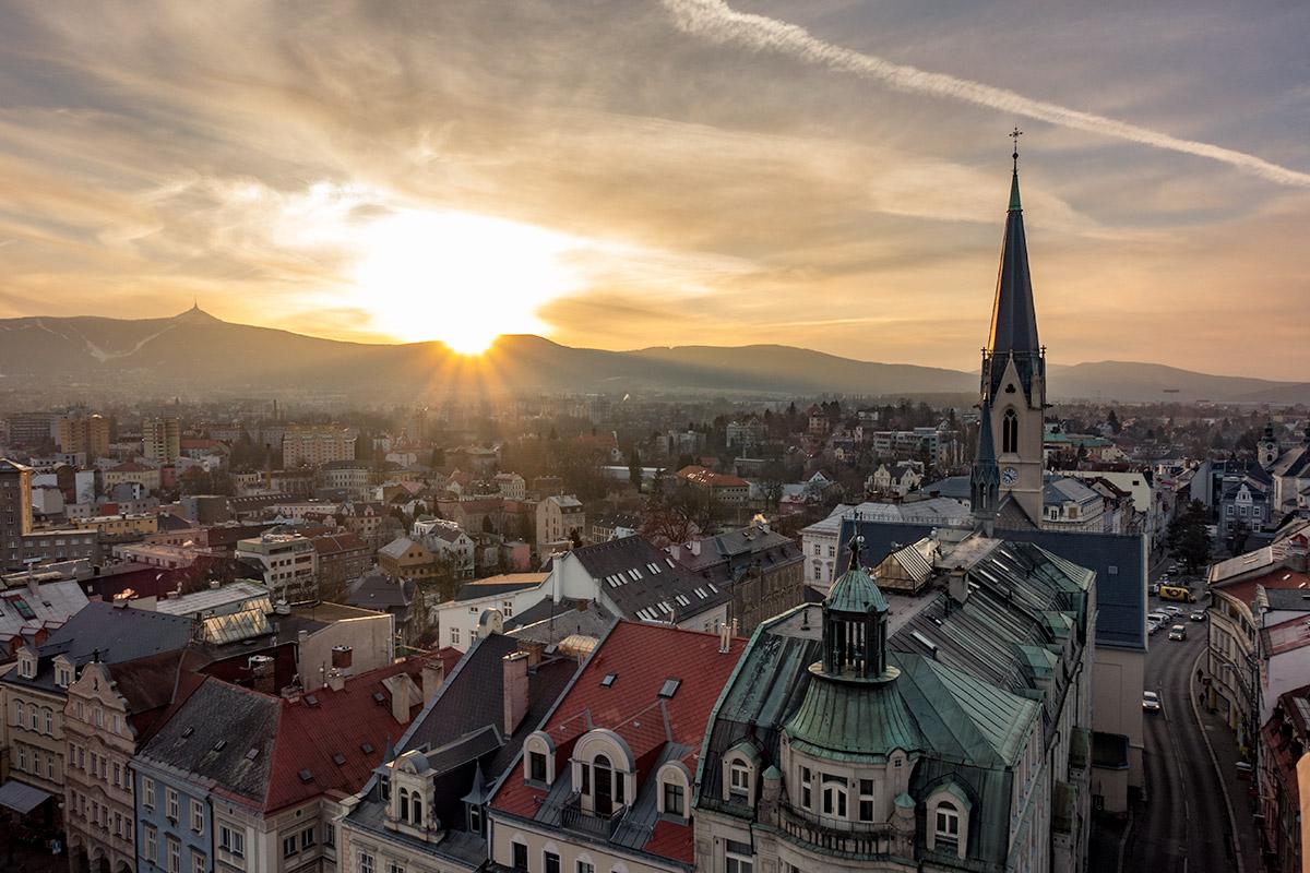 Liberec stadhuis