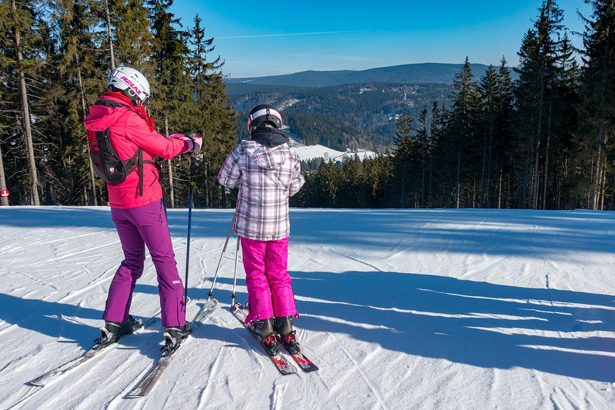 Skiën in Tanvaldský Špičák