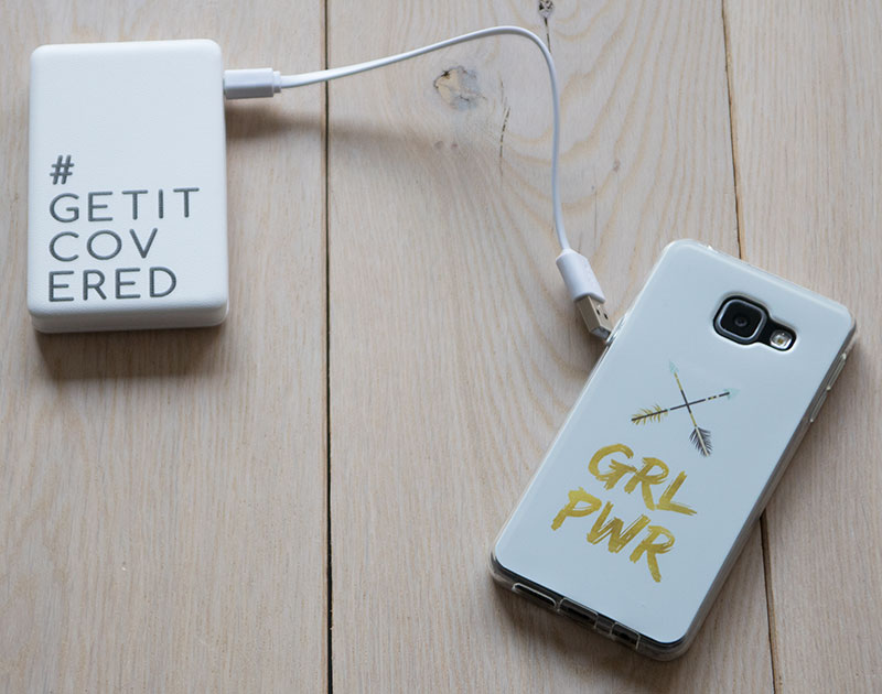 Powerbank getitcovered