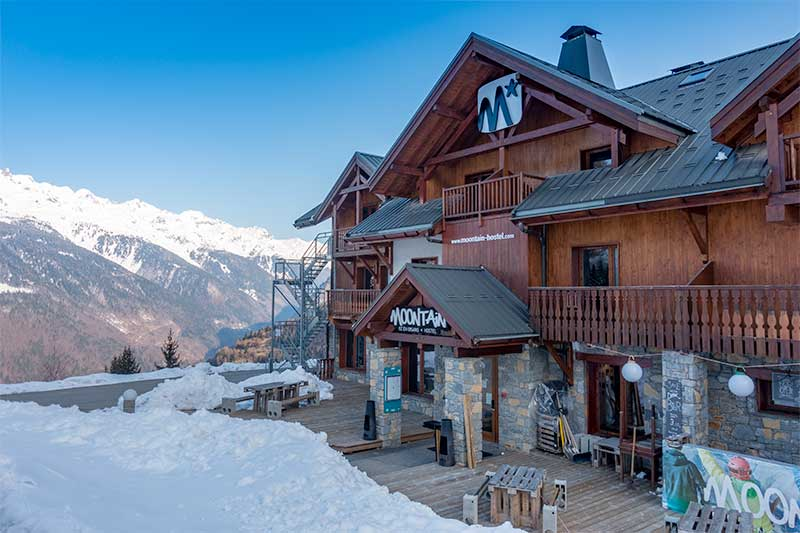 Moontain Hostel in Oz-en-Oisans