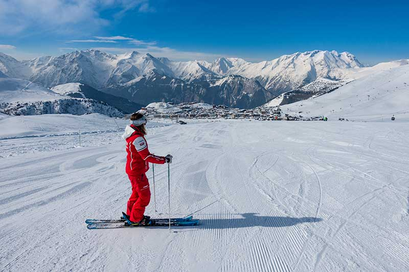 Skiën-in-Oz-en-Oisans