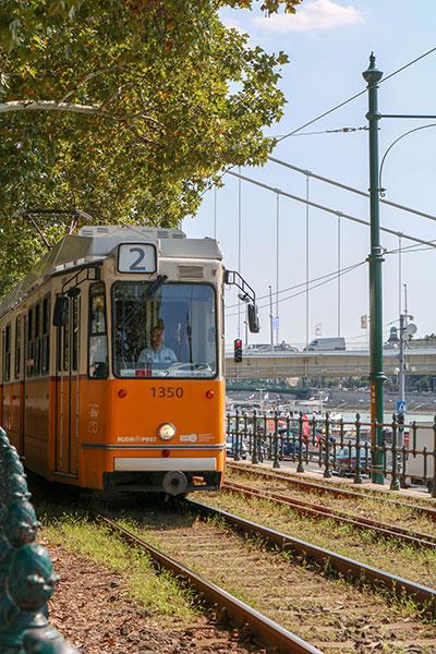 Openbaar vervoer Budapest