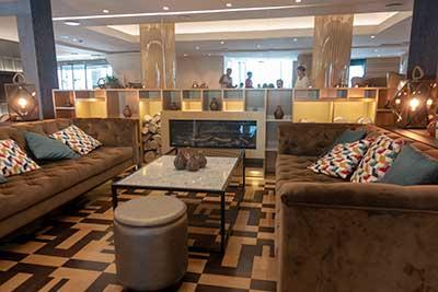 Lounge Radisson Blu Astrid Hotel