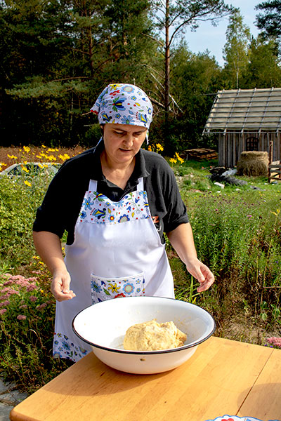 Karola Bober brood bakken