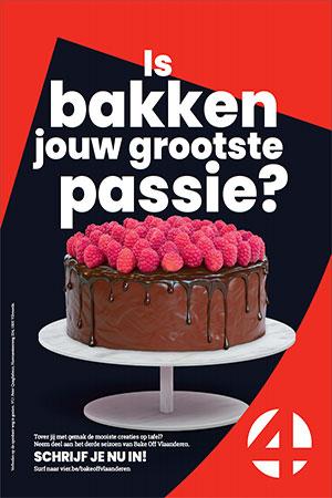Schrijf je in voor derde seizoen van Bake Off Vlaanderen