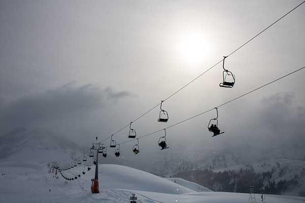 Skigebied Mellau-Damüls