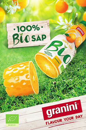 Granini lanceert als eerste A-merk 100% biologische fruitsappen