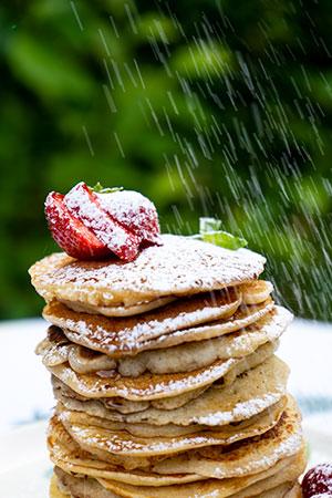 American pancakes op de plancha Victor (Barbecook)
