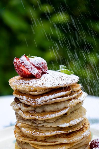 American pancakes plancha Victor Barbecook